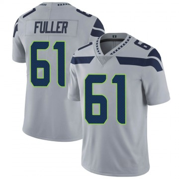 Youth Nike Seattle Seahawks Kyle Fuller Gray Alternate Vapor Untouchable Jersey - Limited