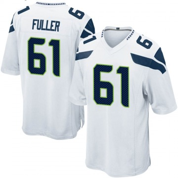 Youth Nike Seattle Seahawks Kyle Fuller White Jersey - Game