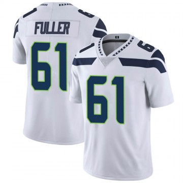 Youth Nike Seattle Seahawks Kyle Fuller White Vapor Untouchable Jersey - Limited