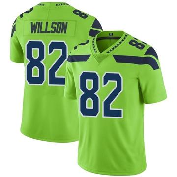Youth Nike Seattle Seahawks Luke Willson Green Color Rush Neon Jersey - Limited