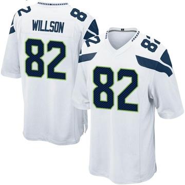 Youth Nike Seattle Seahawks Luke Willson White Jersey - Game