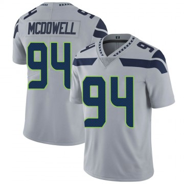 Youth Nike Seattle Seahawks Malik McDowell Gray Alternate Vapor Untouchable Jersey - Limited
