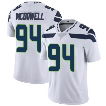 Youth Nike Seattle Seahawks Malik McDowell White Vapor Untouchable Jersey - Limited