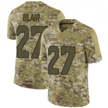 Youth Nike Seattle Seahawks Marquise Blair Camo 2018 Salute to Service Jersey - Limited