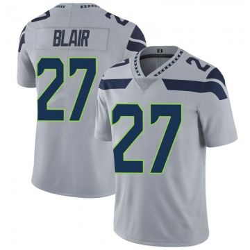 Youth Nike Seattle Seahawks Marquise Blair Gray Alternate Vapor Untouchable Jersey - Limited