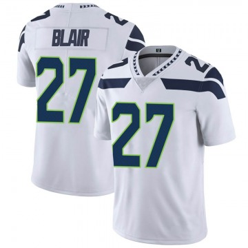 Youth Nike Seattle Seahawks Marquise Blair White Vapor Untouchable Jersey - Limited