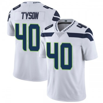 Youth Nike Seattle Seahawks Michael Tyson White Vapor Untouchable Jersey - Limited