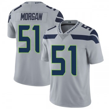 Youth Nike Seattle Seahawks Mike Morgan Gray Alternate Vapor Untouchable Jersey - Limited