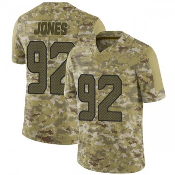 Youth Nike Seattle Seahawks Nazair Jones Camo 2018 Salute to Service Jersey - Limited