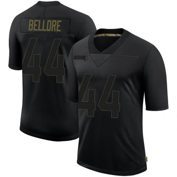 Youth Nike Seattle Seahawks Nick Bellore Black 2020 Salute To Service Jersey - Limited