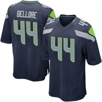 Youth Nike Seattle Seahawks Nick Bellore Navy Team Color Jersey - Game