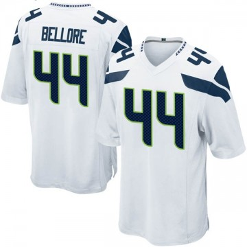 Youth Nike Seattle Seahawks Nick Bellore White Jersey - Game
