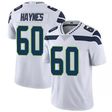 Youth Nike Seattle Seahawks Phil Haynes White Vapor Untouchable Jersey - Limited