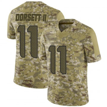 Youth Nike Seattle Seahawks Phillip Dorsett Camo 2018 Salute to Service Jersey - Limited