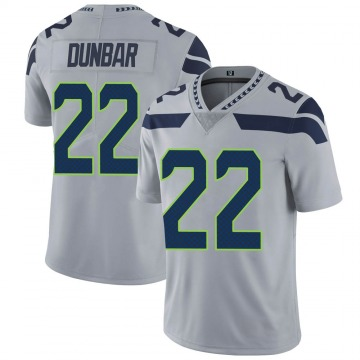 Youth Nike Seattle Seahawks Quinton Dunbar Gray Alternate Vapor Untouchable Jersey - Limited