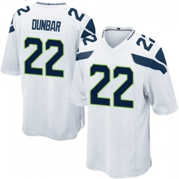 Youth Nike Seattle Seahawks Quinton Dunbar White Jersey - Game