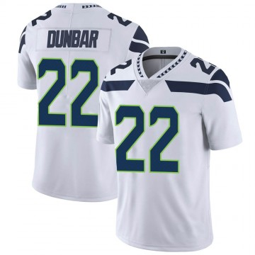 Youth Nike Seattle Seahawks Quinton Dunbar White Vapor Untouchable Jersey - Limited