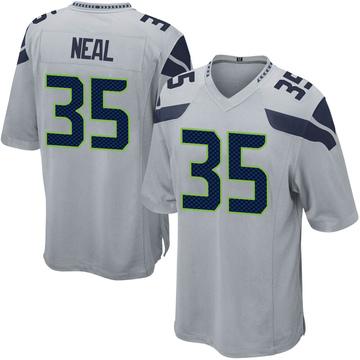 Youth Nike Seattle Seahawks Ryan Neal Gray Alternate Jersey - Game