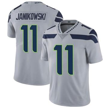 Youth Nike Seattle Seahawks Sebastian Janikowski Gray Alternate Vapor Untouchable Jersey - Limited