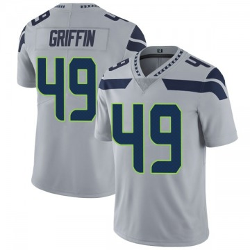 Youth Nike Seattle Seahawks Shaquem Griffin Gray Alternate Vapor Untouchable Jersey - Limited
