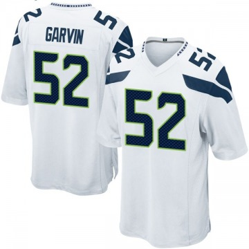 Youth Nike Seattle Seahawks Terence Garvin White Jersey - Game