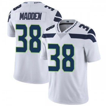 Youth Nike Seattle Seahawks Tre Madden White Vapor Untouchable Jersey - Limited