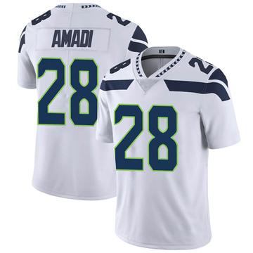Youth Nike Seattle Seahawks Ugochukwu Amadi White Vapor Untouchable Jersey - Limited