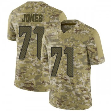 Youth Nike Seattle Seahawks Walter Jones Camo 2018 Salute to Service Jersey - Limited