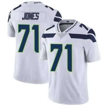 Youth Nike Seattle Seahawks Walter Jones White Vapor Untouchable Jersey - Limited
